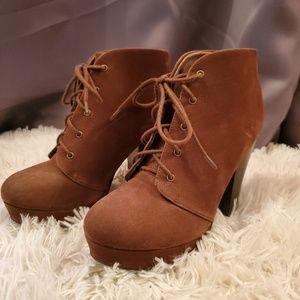 Cute little brown booties!